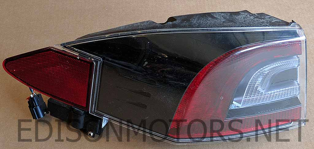 Rear Tail Light, Outer, Model S (L/R)
