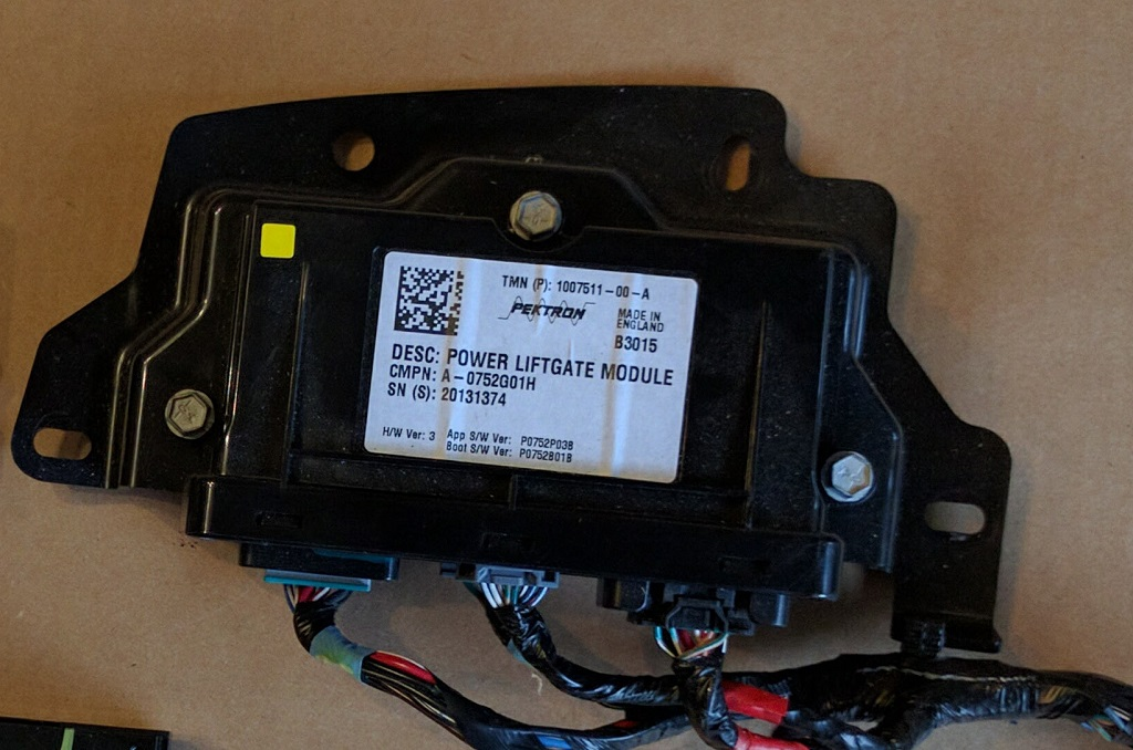 Power Liftgate Module, Model S